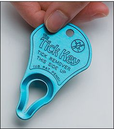 "File this in the ""things you never thought about anyone inventing"" drawer: The Tick Key® - Lee Valley Tools"
