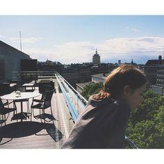 Christel Karhu Rooftop in Helsinki☀️