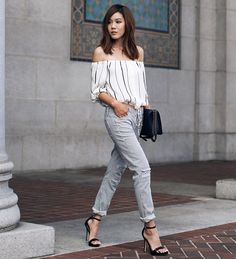boyfriend-jeans-with-off-shoulder-top