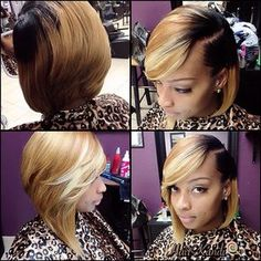 This bob is giving me so much life <3