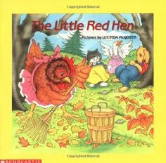 Free Little Red Hen printable picture recipes for your preschool or kindergarten classroom. How to support early learning standards with picture recipes.