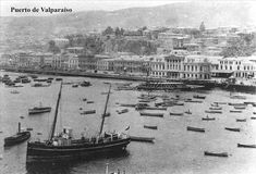 Imágenes de Chile del 1900: Valparaíso Parte 2 Paris Skyline, New York Skyline, Sailing Ships, South America, Past, Country, World, Koh Tao, Travelling