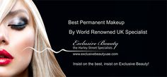 Want to wake up with make up? http://exclusivebeautyuae.com/permanent-make-up/