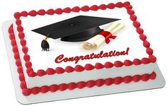 Graduation 1 Edible Birthday Cake Topper OR Cupcake Topper, Decor - Want to surprise your special someone on his/her birthday? How about choosing a personalized cake topper to reflect your emotions! Well, trust to get you the best. Edible Cake Toppers, Birthday Cake Toppers, Cupcake Toppers, Edible Printer, Foto Pastel, Edible Rice Paper, Cake Images, Cake Pictures, Savoury Cake