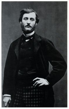 Frédéric Bazille in 1865 photo by Etienne Carjat