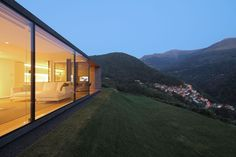 Sleek and sustainable prefab home in the Swiss Alps was constructed in just a few days