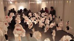 Woman Puts Five Years of Menstrual Blood on Display at 'Art Show'