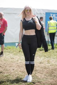 What the style crowd wore to Glastonbury 2015.  ELLE Festival Style.