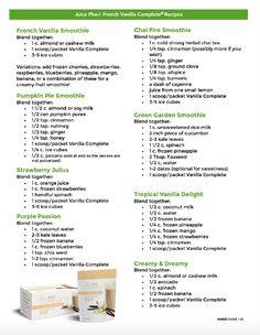 Vanilla Shake Recipes, Easy Smoothie Recipes, Protein Recipes, Drink Recipes, Keto Recipes, Healthy Recipes, Post Workout Shake, Post Workout Smoothie, Workout Protein