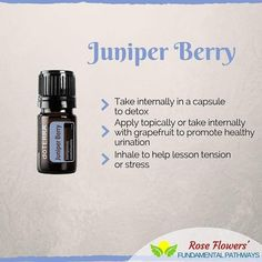 I love using this oil for my daughter. It helps to dispel her irrational fears at night.  How do you use Juniper Berry?  #empoweredmom #essentialoils