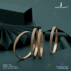 Plain Gold Bangles gms) - Fancy Jewellery for Women by Jewelegance Antique Jewellery Designs, Fancy Jewellery, Real Gold Jewelry, Gold Wedding Jewelry, Stylish Jewelry, Diamond Jewellery, Bridal Jewellery, Modern Jewelry, Plain Gold Bangles