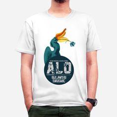 Burung Alo  dari tees.co.id Platform, Hoodie, Tees, Mens Tops, T Shirt, Fashion, Supreme T Shirt, Moda, T Shirts