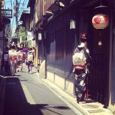 Pontocho. Kyoto.