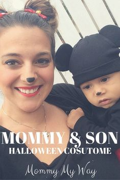 Mommy and Me Halloween Costume – Mom and son Mickey Mouse and Minnie Mouse (scheduled via http://www.tailwindapp.com?utm_source=pinterest&utm_medium=twpin&utm_content=post105476329&utm_campaign=scheduler_attribution)