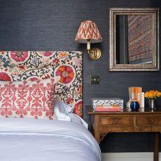 30 Guest Bedroom Ideas with Online Interior Design Bedroom Decor – Diymeg Bedroom Colors, Home Decor Bedroom, Bedroom Ideas, Bedroom Furniture, Colourful Bedroom, Colorful Bedding, Furniture Ideas, Furniture Stores, Bedroom Bed