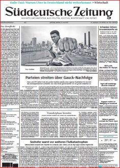 [Magazine] Süddeutsche Zeitung - 06.06.2016 - Nydus Underground