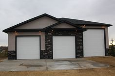 Metal buildings shops with workshop and roll up garage doors for metal buildings - Check Out THE PIC for Many Tips and Ideas. Unique Garage Doors, Garage Door Styles, Garage Door Design, Modern Garage, Building A Garage, Carport Garage, Garage House, Garage Shop, Detached Garage