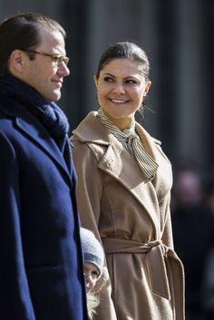 Princess Victoria Photos Photos - Crown Princess Victoria, Prince Daniel, and Princess Estelle of Sweden attend a Name Day celebration for Princess Victoria at the Royal Palace on March 12, 2017 in Stockholm, Sweden. - The Crown Princess Name Day