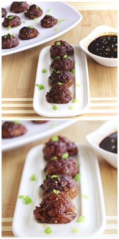 Sriracha-Infused Saucy Asian Meatballs with Szechuan Glaze adds an unexpected glaze to meatballs that is exploding with flavour!