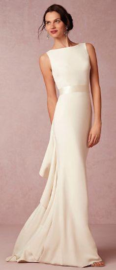 Timeless wedding dress