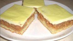 Koláč je málo sladký a osvěžující... http://rurbanczykova.blogspot.cz/2013/09/jablecno-tvarohovy-kolac.html