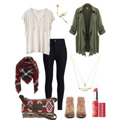 Foggy Mountains by zoeberrier on Polyvore featuring polyvore fashion style Rodarte H by Hudson Pendleton Bare Escentuals