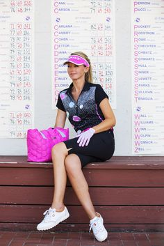 Daily Sports - Lookbook Golf Apparel, Golf Outfit, Ss16, Athletic, Clothes For Women, Live, Sports, How To Wear, Fashion