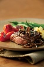 Diabetic Friendly Steak Diane