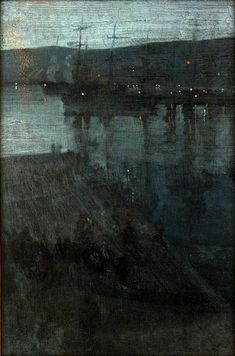 Nocturne in Blue and Gold: Valparaiso, (1866), James Abbott McNeill Whistler