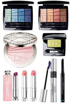 Dior Colour Gradation Makeup Collection Spring 2017, весенняя коллекция макияжа Dior 2017