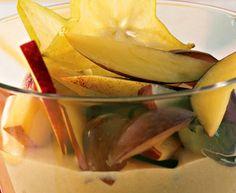 Fruta Vaporizada  Com a chegada do verão, para nos refrescar uma salada de fruta misteriosa, saborosa, apetecível...