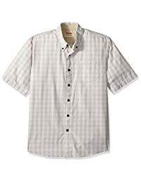 Wrangler Authentics Men's Short Sleeve Plaid Woven Shirt Mens Clothing Sale, Love Clothing, Casual Button Down Shirts, Tee Shirts, Tees, Men Casual, Plaid, Mens Fashion, Sleeves