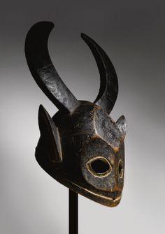 Bamana or Maninka Helmet Mask, Mali