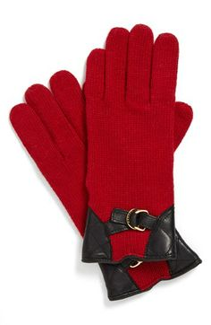 Lauren Ralph Lauren Quilted Riding Gloves Gratitude, Ralph Lauren,  Burgundy, Clocks, Bags 6d1702b8f22