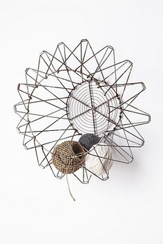 Handcrafted Accordion Basket - anthropologie.com// no longer available :-( I must find somethinglike this!
