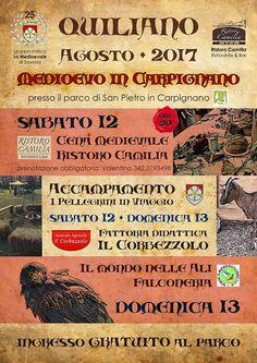 "Italia Medievale: ""Medioevo in Carpignano"" a Quiliano (SV)"