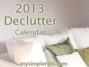 Declutter & Organize Calendar