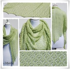 DAISY Strickanleitung Lace Tuch / Knitting pattern for Lace Shawl