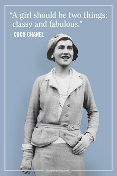 Coco Chanel famously lived her life according to her own rules. Her musings on elegance, love, and life are as timeless as her classic Chanel designs. Take a look at the founder of Chanel's most memorable, inspiring, and outspoken quotes here. Michel De Montaigne, Clothes Draw, Einstein, Coco Chanel Quotes, Coco Chanel Pictures, Womens Fashion Stores, Chanel Cruise, Diane Kruger, Fashion Quotes