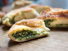 Stuffed Moldovan Flatbreads with Dill and Sorrel