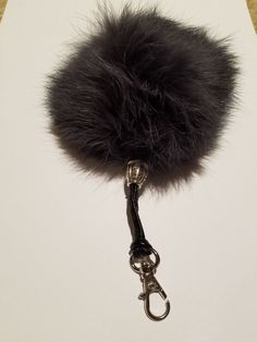 5a8c9117cf63 Real Polar Fox Fur Pom Pom Fluffy Keychain  fashion  clothing  shoes   accessories  womensaccessories  keychainsringsfinders (ebay link)