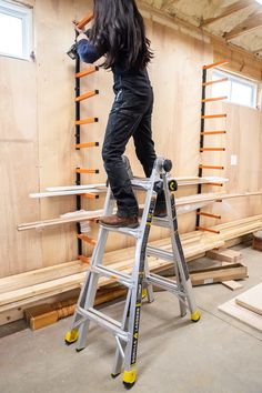 Woodworking Joinery Biscuit Joiner My favorite ladder - Gorilla Ladders Multi-position Ladder.Woodworking Joinery Biscuit Joiner My favorite ladder - Gorilla Ladders Multi-position Ladder Awesome Woodworking Ideas, Best Woodworking Tools, Woodworking Joints, Woodworking Supplies, Woodworking Workbench, Woodworking Workshop, Woodworking Techniques, Woodworking Projects, Wood Projects