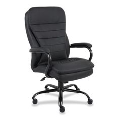 Leather Executive Chair with Cushion