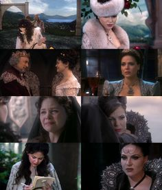Once Upon a Time- Snow White and The Evil Queen