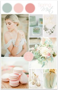Mint and Pink Wedding Ideas