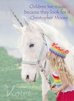 "Photo 1 of 26: Rainbow Unicorn / Birthday ""Cammi's 5th Birthday"" | Catch My Party"