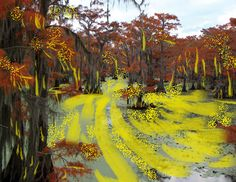 The Mystery of Fern Lake Yellow Goo. http://grandkidgalaxy.com/fern-lake-saved-yellow-goo/