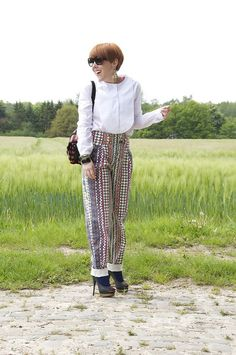 White Collar - Marc by Marc Jacobs Trousers