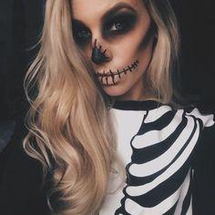 Скелет - образ на Хэллоуин