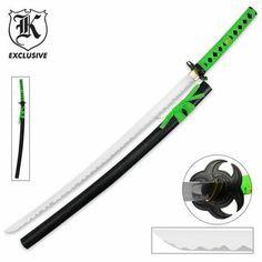 Undead Apocalypse Katana Samurai Sword